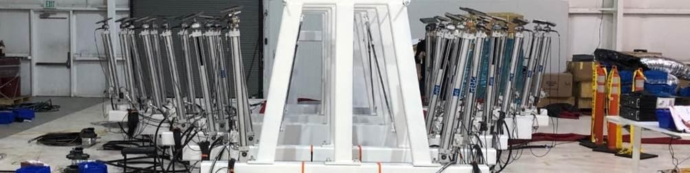 Simulating Supersonic Loads With 27 Actuators